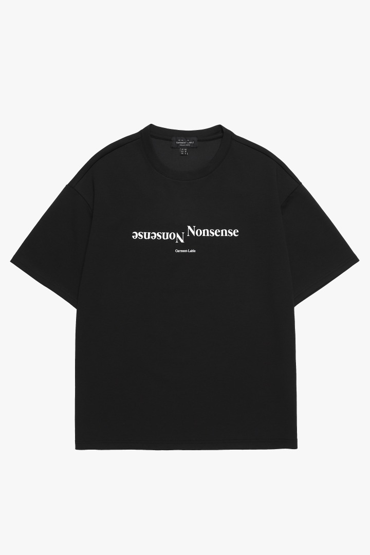 Nonsense Short Sleeve Tee - Black