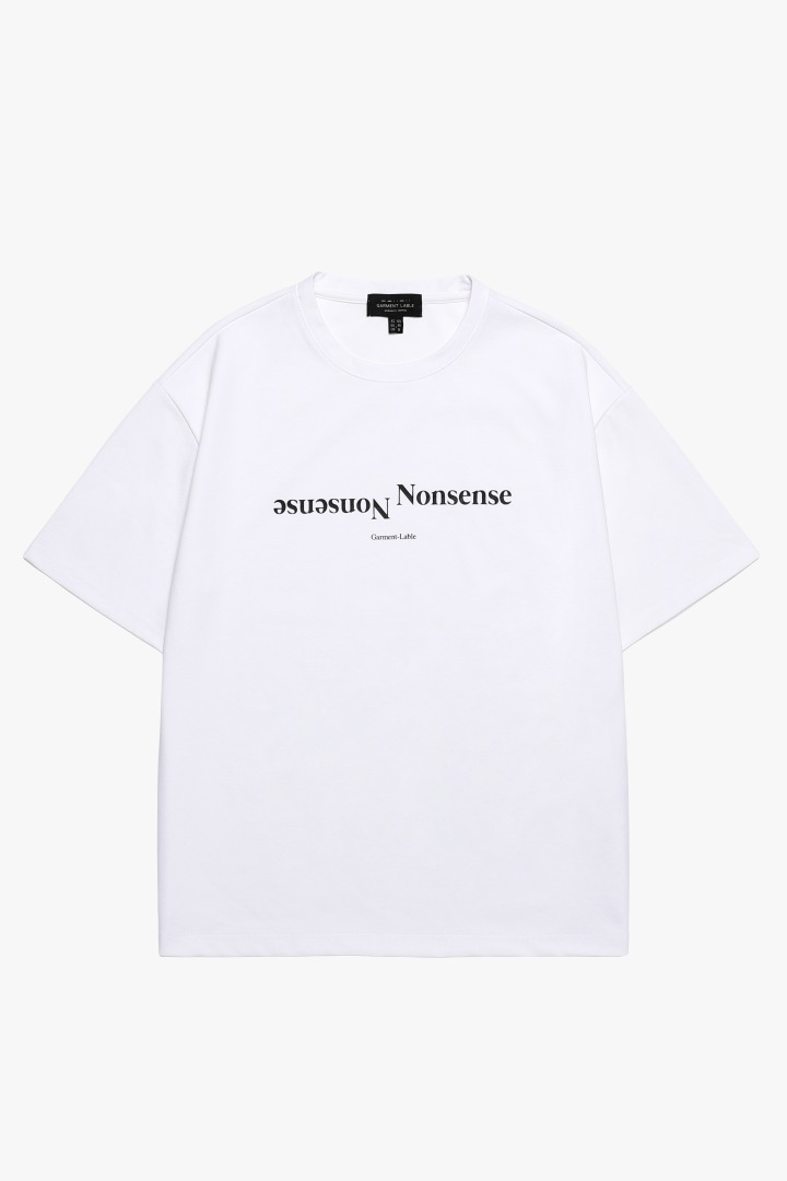Nonsense Short Sleeve Tee - White