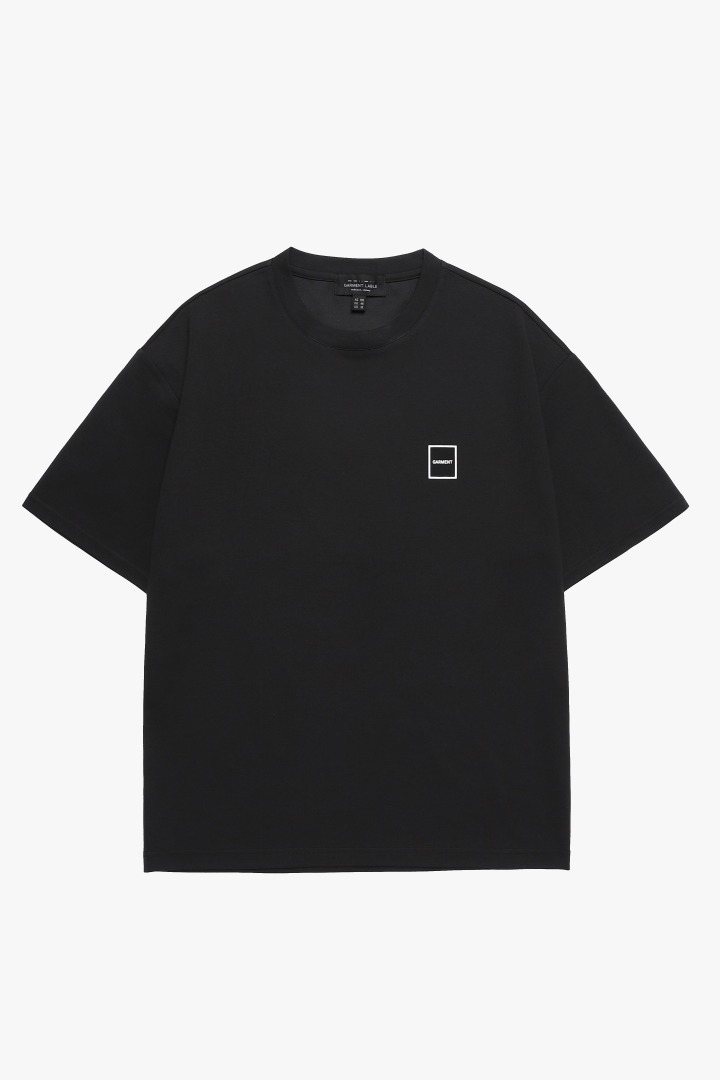 Square Short Sleeve Tee - Black